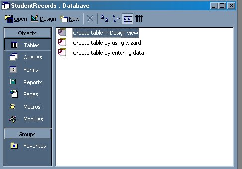 ms-access-Create a database | Microsoft Access Introduction